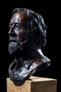Dave's Head, bronze