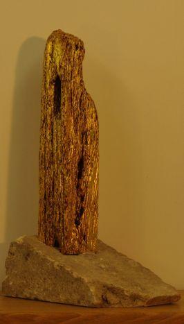 Gilded wood, bath stone. NFS.