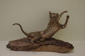 Cat sculpture - Harry