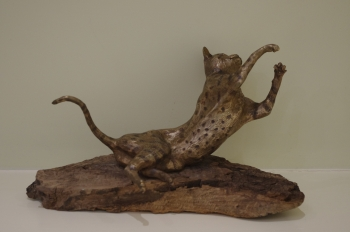 Cat sculpture - Harry